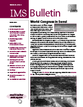 IMS Bulletin 49(2) cover image