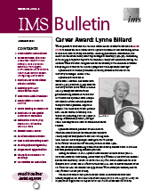 IMS Bulletin 49(4) cover image