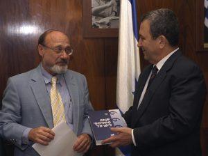 Yossi Yahav with Israeli Prime Minister Ehud Barak