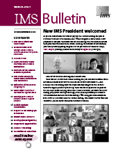 IMS Bulletin 49(7) cover image
