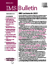 IMS Bulletin 50(1) cover image