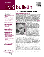 IMS Bulletin 50(2) cover image