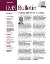 IMS Bulletin 31(3) cover image