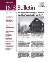 IMS Bulletin 31(5) cover image