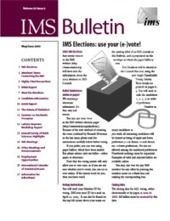 IMS Bulletin 32(3) cover image