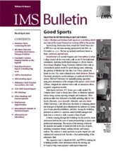 IMS Bulletin 33(2) cover image