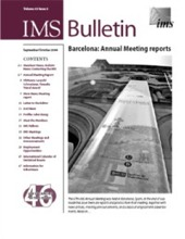 IMS Bulletin 33(5) cover image