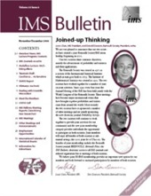 IMS Bulletin 33(6) cover image