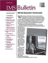IMS Bulletin 35(1) cover image