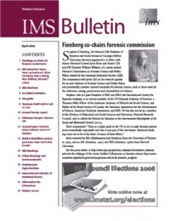 IMS Bulletin 35(3) cover image