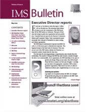 IMS Bulletin 35(4) cover image