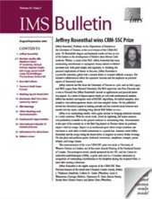 IMS Bulletin 35(7) cover image