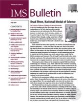 IMS Bulletin 36(6) cover image