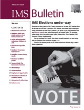IMS Bulletin 38(4) cover image