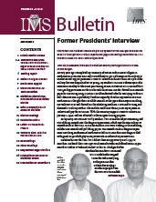 IMS Bulletin 39(2) cover image
