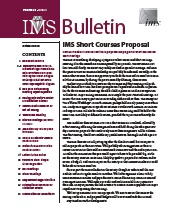 IMS Bulletin 39(8) cover image