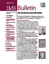 IMS Bulletin 40(2) cover image