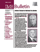 IMS Bulletin 40(4) cover image