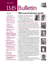 IMS Bulletin 42(5) cover image