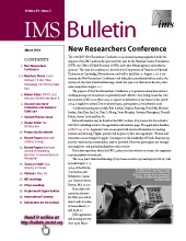 IMS Bulletin 43(2) cover image