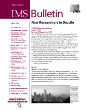IMS Bulletin 44(2) cover image