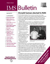 IMS Bulletin 44(4) cover image