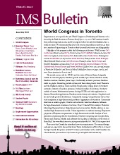 IMS Bulletin 45(4) cover image
