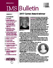 IMS Bulletin 46(4) cover image