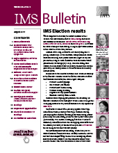 IMS Bulletin 46(5) cover image