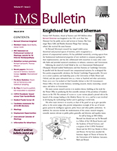 IMS Bulletin 47(2) cover image
