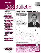 IMS Bulletin 47(3) cover image