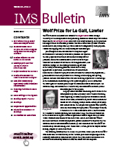 IMS Bulletin 48(2) cover image