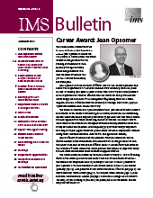 IMS Bulletin 48(4) cover image