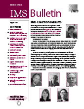 IMS Bulletin 48(5) cover image