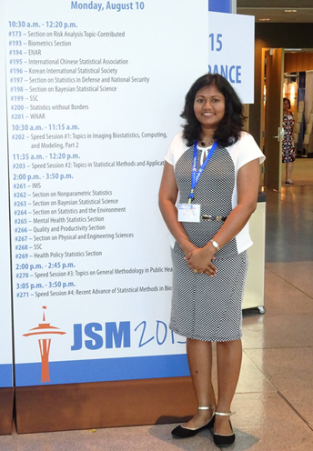Thilaksha at JSM
