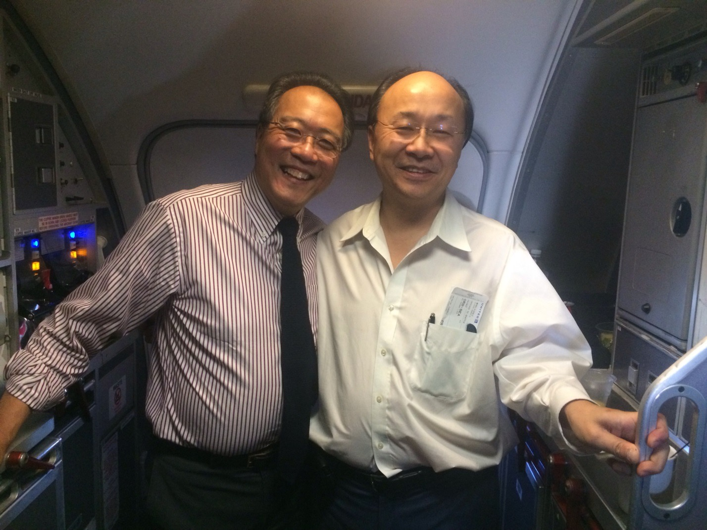 Who was sharing a flight with Xiao-Li?